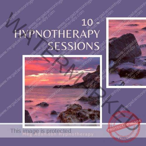 10 - Hypnotherapy Sessions
